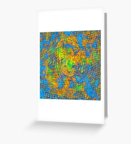 Cat. Every day is Earth Day. Greeting Card