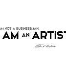 I am an artist - warren buffett by razvandrc