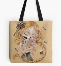 Enchanted Kiss Of The Undead Beauty Tote Bag