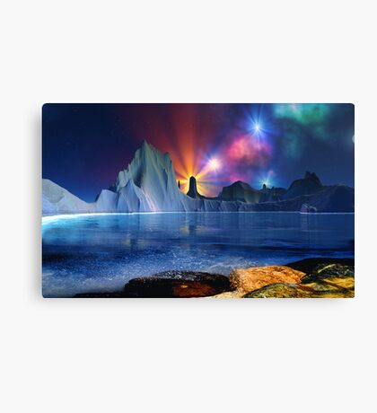 Beyond Earth-for drjmarks Canvas Print