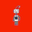 Christmas Robot by samedog