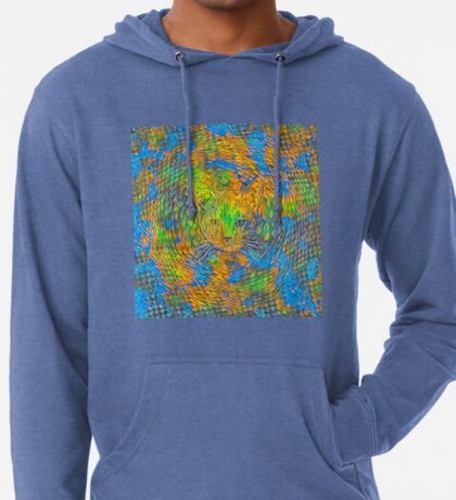 Cat. Every day is Earth Day. Lightweight Hoodie