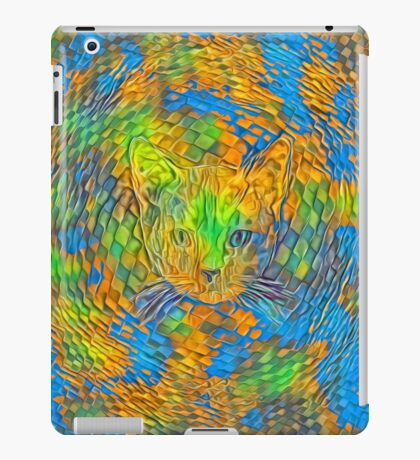 Cat. Every day is Earth Day. iPad Case/Skin