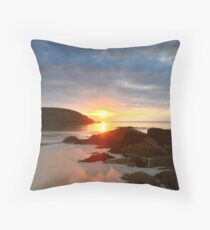 Achmelvich Beach, Scotland  Throw Pillow