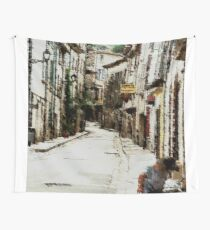 Collobrières, le  Provence, France Wall Tapestry