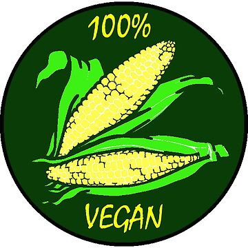 Vegan Design - 100% Vegan by kudostees