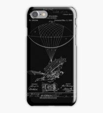Flying Machine Patent Print iPhone Case/Skin
