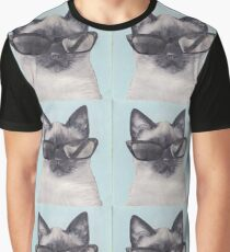 Cool Cat Graphic T-Shirt