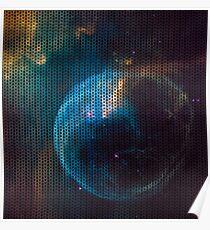 Knitted Cat's eye nebula Poster