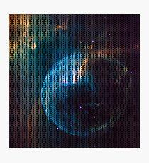 Knitted Cat's eye nebula Photographic Print