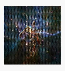 Knitted Carina Nebula Photographic Print