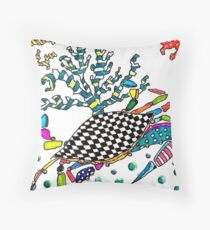 The Crayola Crab Throw Pillow