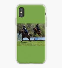 At The Sidesaddle Races iPhone Case