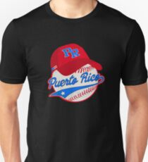 Puerto Rico Baseball Ball Cap Puerto Rican Unisex T-Shirt
