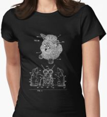 Furby Patent Assembly Print Women's Fitted T-Shirt