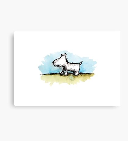 Moonah Dog Canvas Print