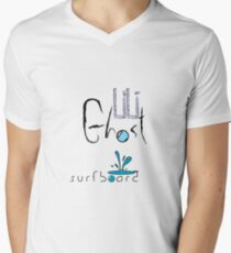 LiLi Ghost - Surf Board Men's V-Neck T-Shirt