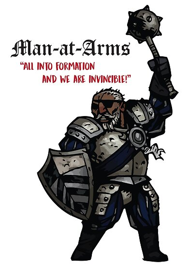 Medieval War Man At Arms Quotes Posters By Reuk45 Redbubble