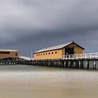 Queenscliff Pier by Jim Worrall