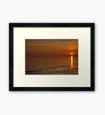 Bognor Rocks At Sunset Framed Print