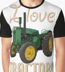BoolerooTractor_John DeereD_03 Graphic T-Shirt