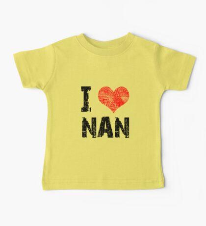 I Love Nan Kids Clothes