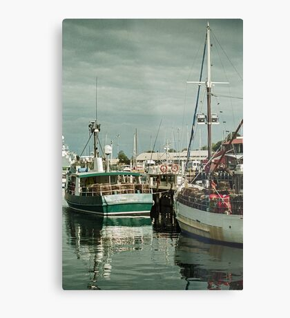Autumn 2017 Victoria Dock Metal Print