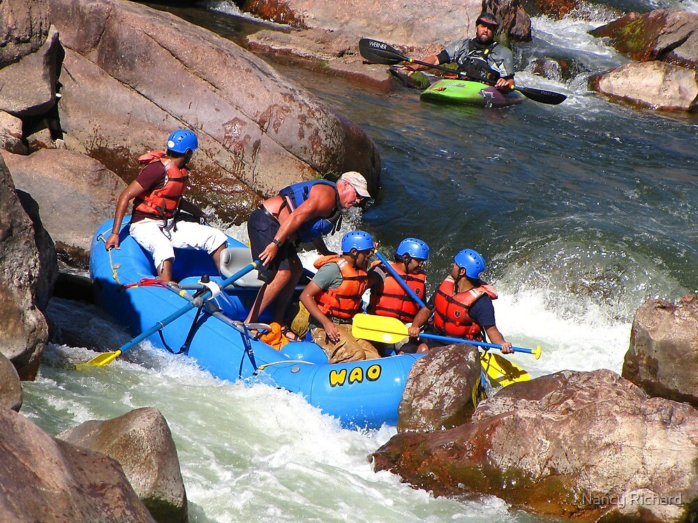 Kayaker to the Rescue? by Nancy Richard
