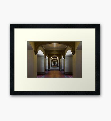 Hall of Worlds Framed Print