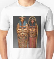 Ancient Egyptian Mummy in Sarcophagus Unisex T-Shirt
