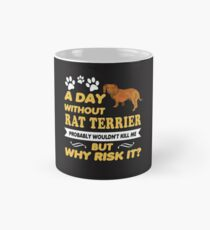Rat Terrier Mug, Rat Terrier Travel Mug, Rat Terrier Coffee Mug Mug