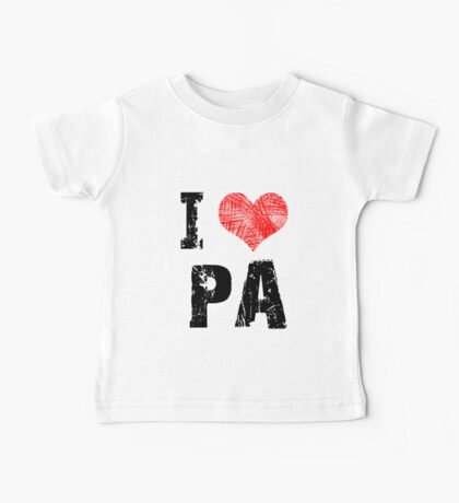 I Love Pa Kids Clothes