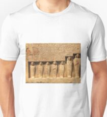 Ancient Egyptian Wall relief sculpture Unisex T-Shirt
