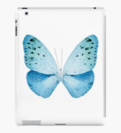 MISS BUTTERFLY EUPLOEA X-RAY White Edition iPad Case/Skin