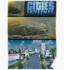Cities Skyline Poster Poster