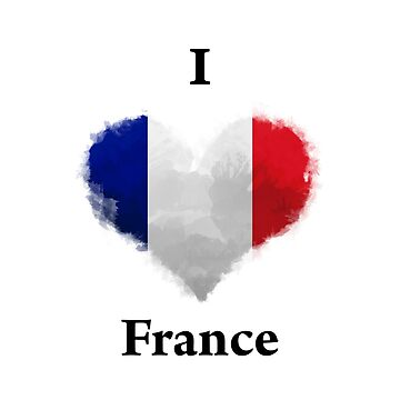 I LOVE France by KarimStudio