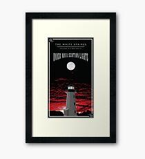 The White Stripes - Under Nova-Scotian Lights Tall  Framed Print