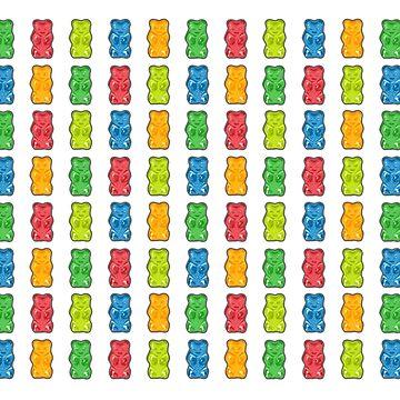 Rainbow Gummibärchen von XOOXOO