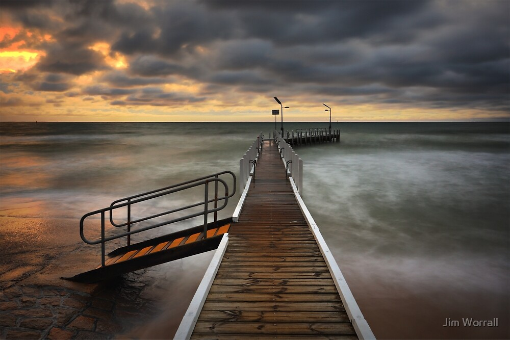 A Wild Evening at Safety Beach by Jim Worrall