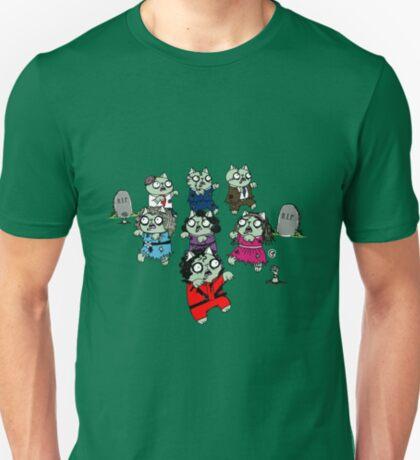 Zombie Thriller Cats T-Shirt