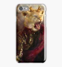 joffrey : king lion iPhone Case/Skin