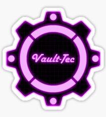 Purple Vault-Tec Gear Sticker