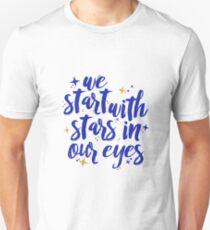 We Start With Stars In Our Eyes | Dear Evan Hansen T-Shirt