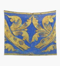 Medieval Plaque Wall Tapestry