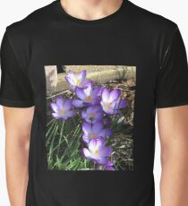 Easter Crocuses Graphic T-Shirt