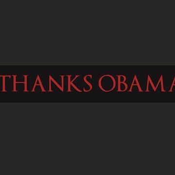Thanks, Obama by JJCrane