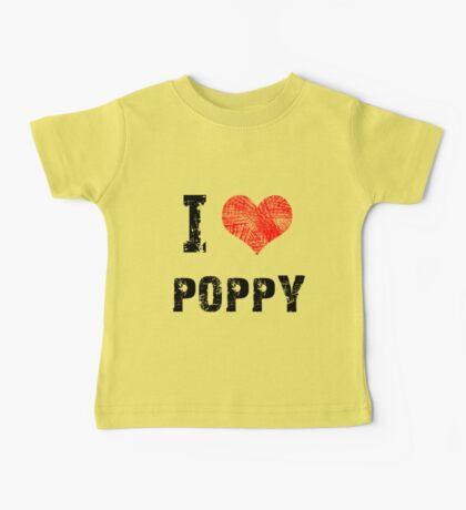 I Love Poppy Kids Clothes