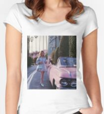 Vintage Car Fitted Scoop T-Shirt