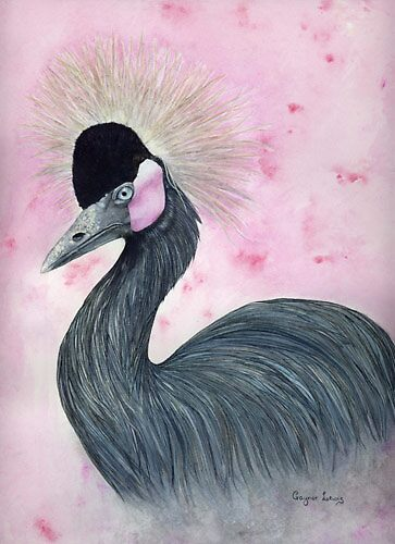 The Crowned Crane by Gaynor