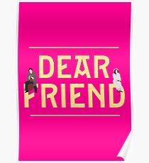 Dear Friend | She Loves Me Poster